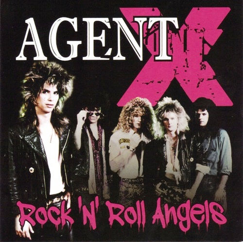Agent X - Rock N Roll Angels - Front Cover